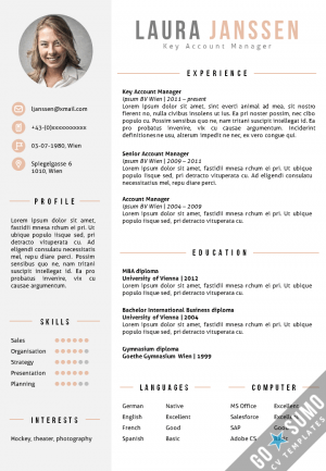 How To Write A Cv Or Curriculum Vitae With Free Sample Cv All Cv Templates Go Sumo