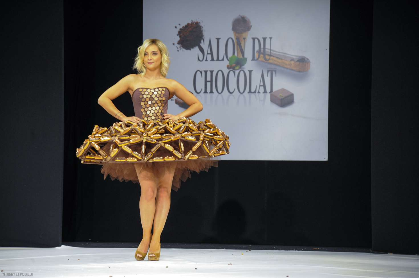 Salon Du Chocolat 2017 Paris Priscilla Betti Salon Du Chocolat Paris 2017 05 Gotceleb