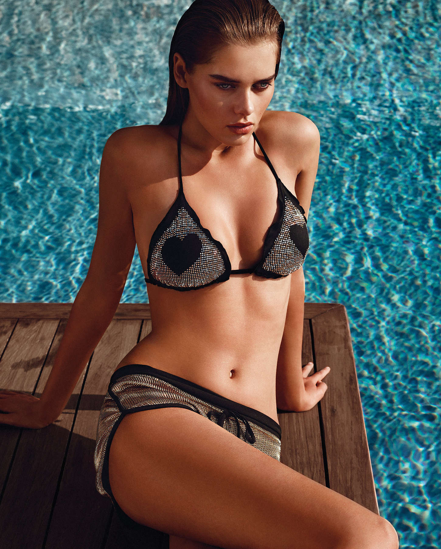 Twin Set Costumi Da Bagno 2017 Solveig Mork Hansen Twin Set Swimwear Photoshoot Spring