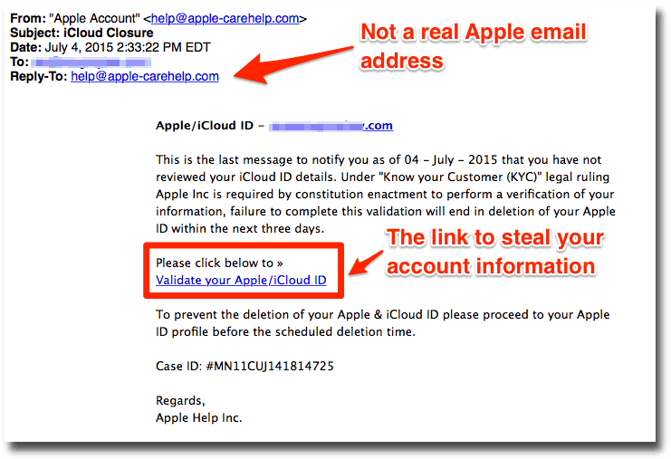 how to delete icloud email account on apple id