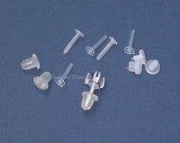 Supplies: Jewelry Findings--Plastic ear wires, Nylon Ear ...