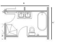 4 x 6 bathroom layout - 28 images - small bathroom design ...