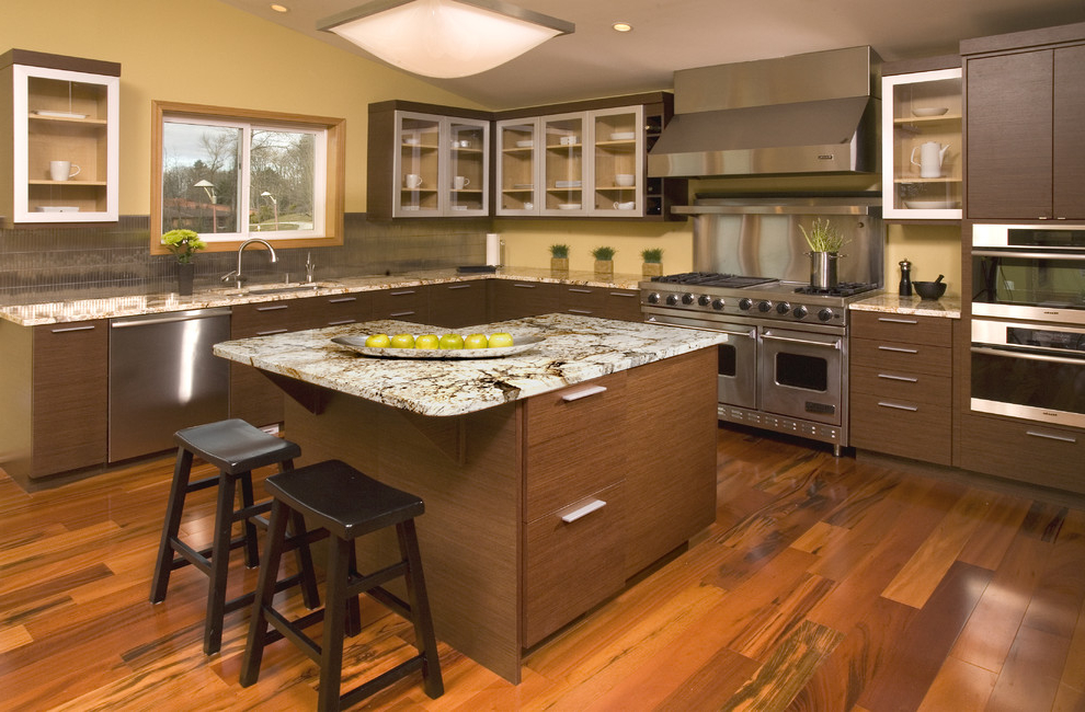 Asian Contemporary Kitchen Cabinets #855