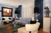 Latest Curtain Design Trends For Living Room #684 | Living ...