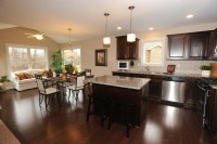 Dining Room Kitchen Combination