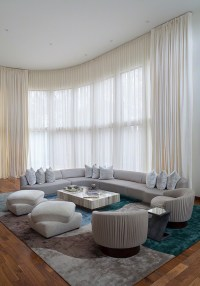 Contemporary Living Room Curtains #921 | Living Room Ideas