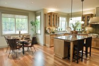 Applying Some Interior Design For Open Kitchen With Dining ...