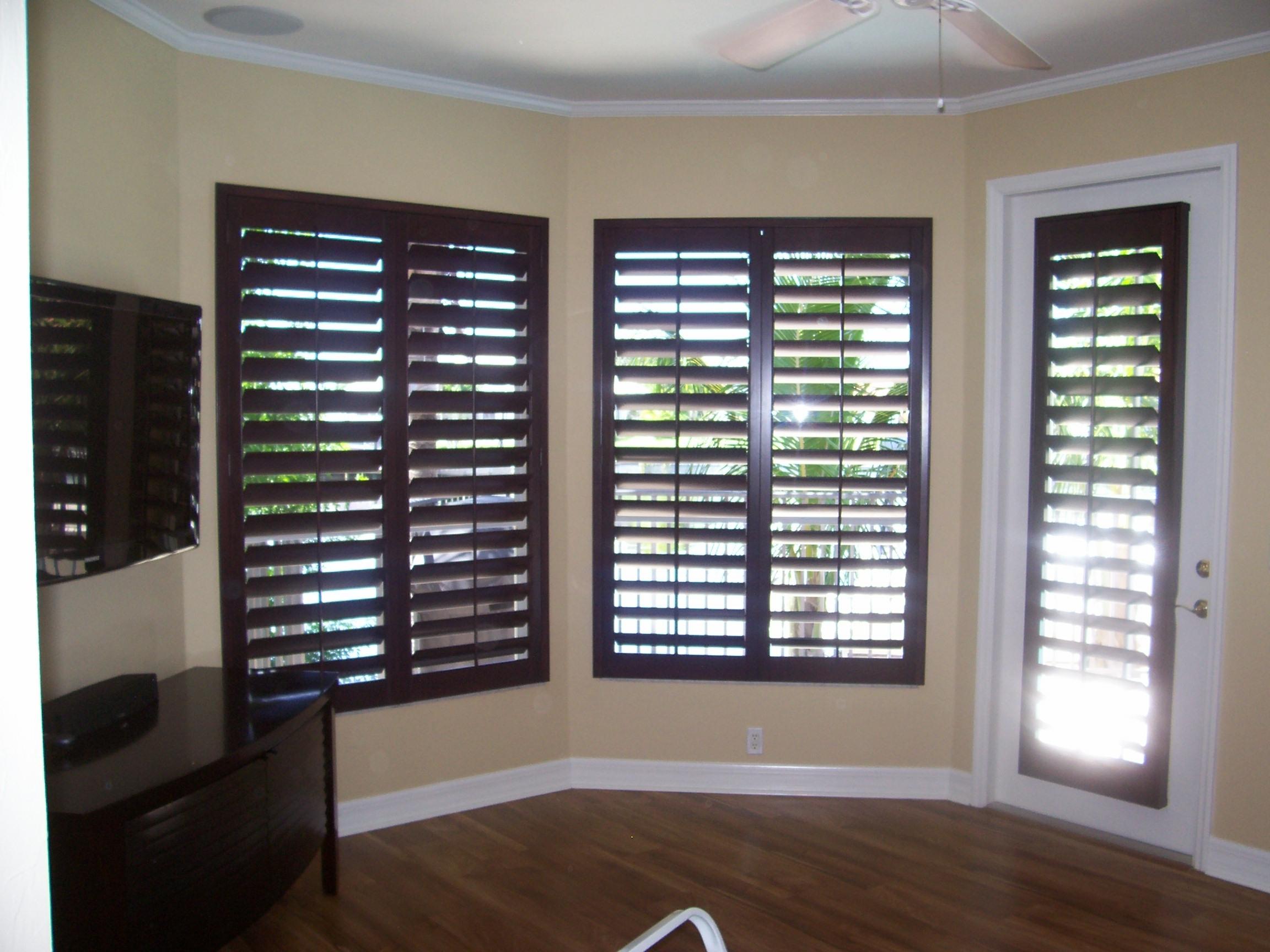 Black Wooden Window Shutters Ideas #957