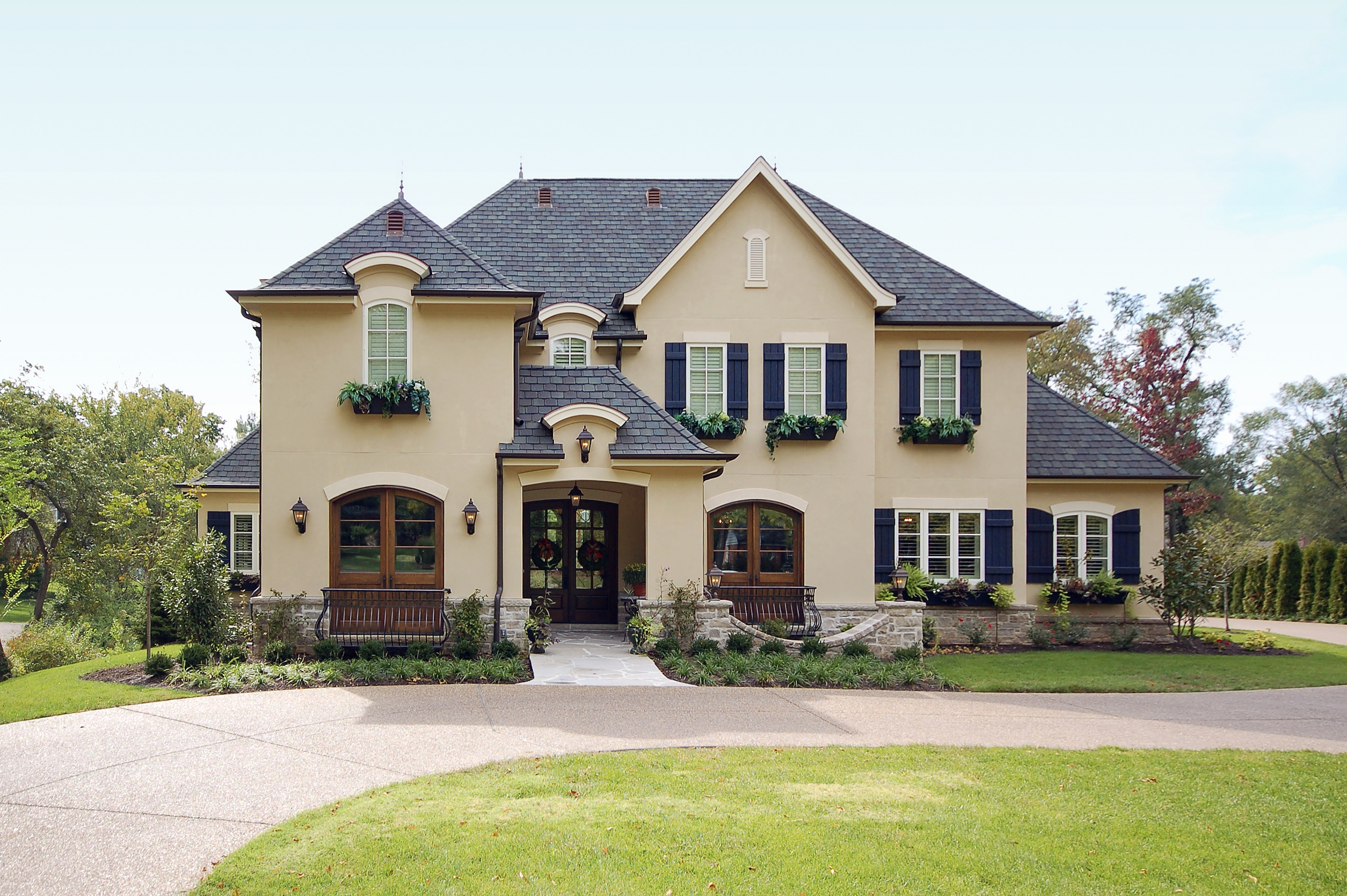 French Country Home French Country Design Exterior Joy Studio Design Gallery