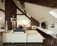 Attic Living Room With Sloped Ceiling #7929 | House ...