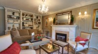 Chandelier Lighting For Traditional American Living Room ...
