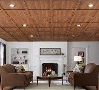 Contemporary Wood Plank Ceiling #9187 | House Decoration Ideas