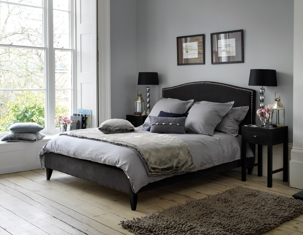 Gothic Einrichtung Schlafzimmer Gothic Bedroom In Grey Color 8371 House Decoration Ideas