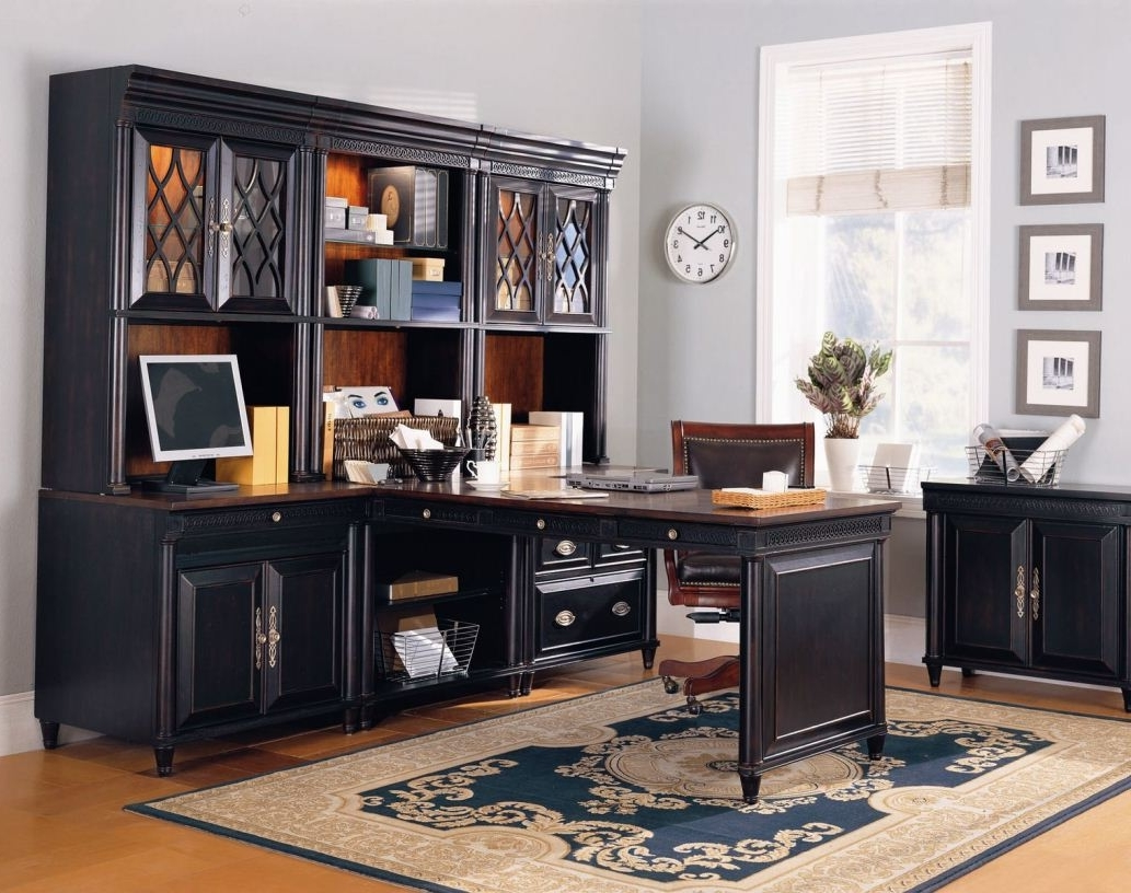 Classic Home Offices Classic Wooden Custom Modular Home Office Furniture 8714