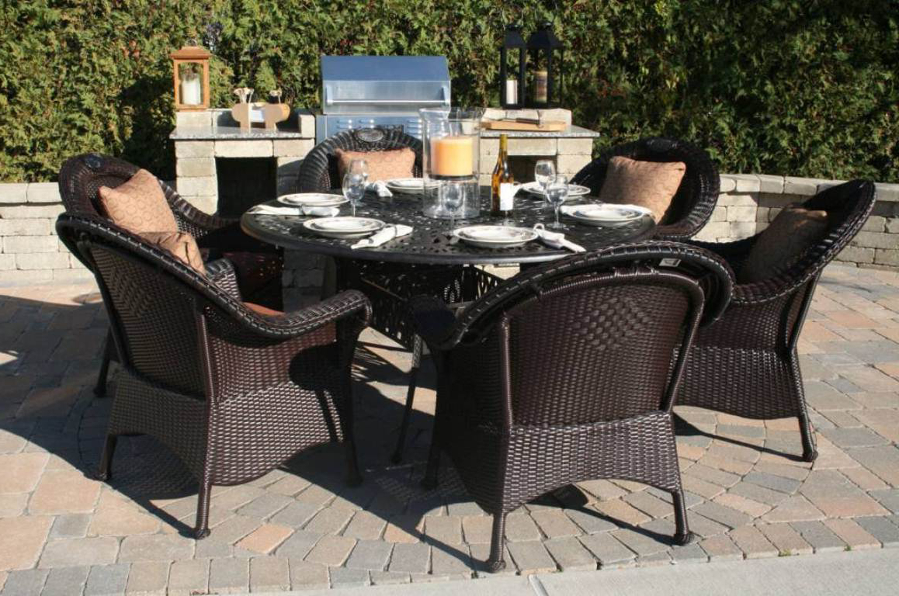 Dining Set 12 Chairs Modern Outdoor And Patio Furniture Decoration 13984