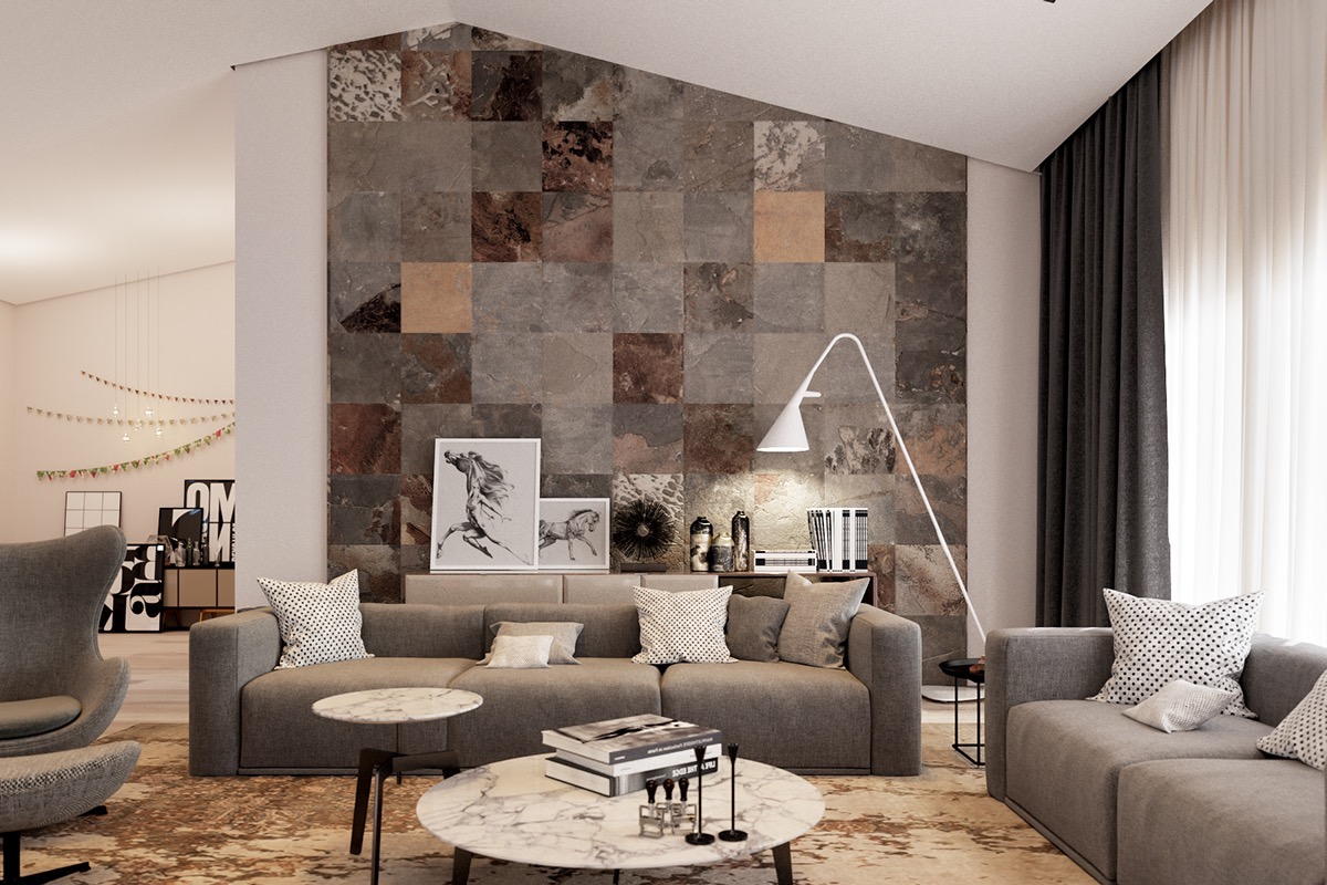 Wall Tiles Designs For Living Room Ceramic Wall Tiles For Living Room Interior Decoration