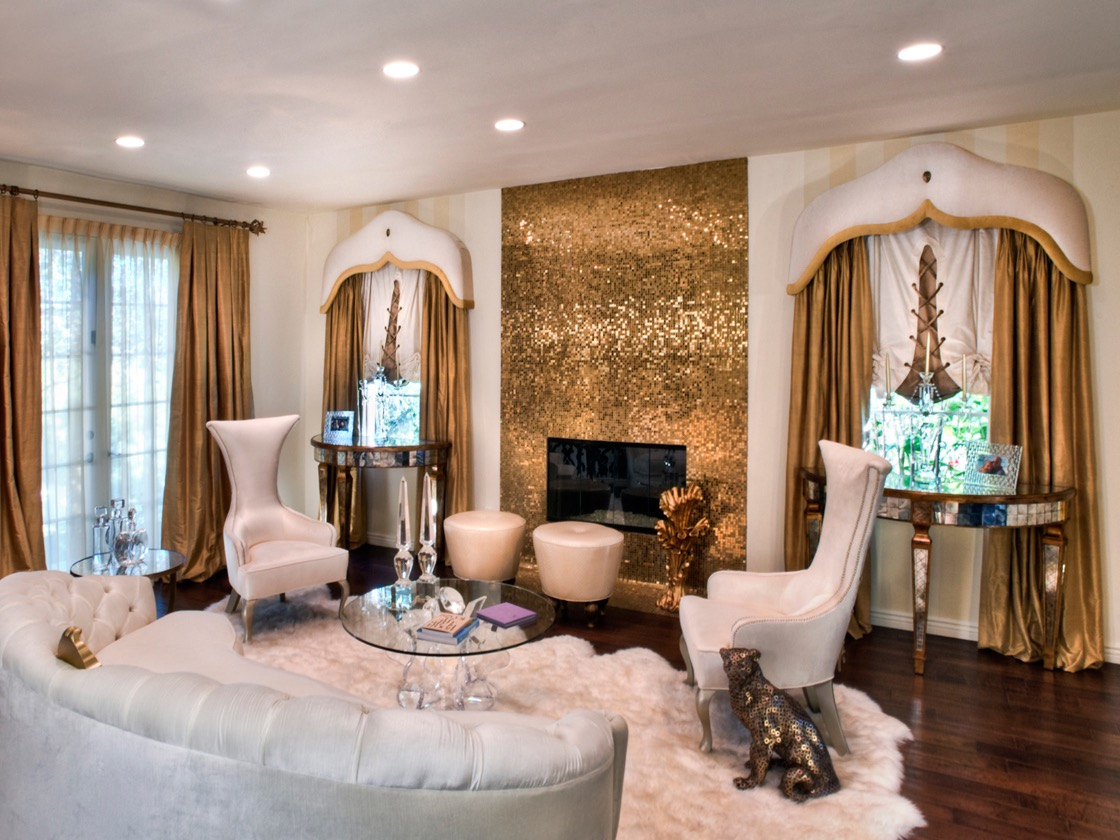 Gold Living Room Ideas 32 Glamorous And Luxurious Living Room Interior 17960