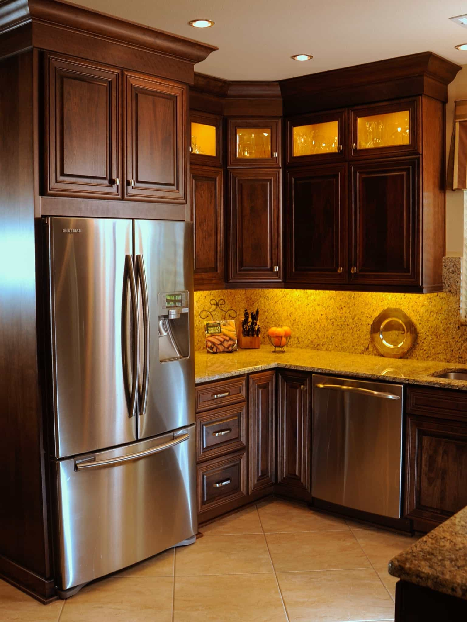 Kitchen Cabinet Wood Reconditioning Kitchen Functional Kitchen Cabinets Design And Layout 5