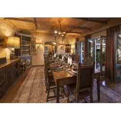 Small Crop Of Rustic Dining Room