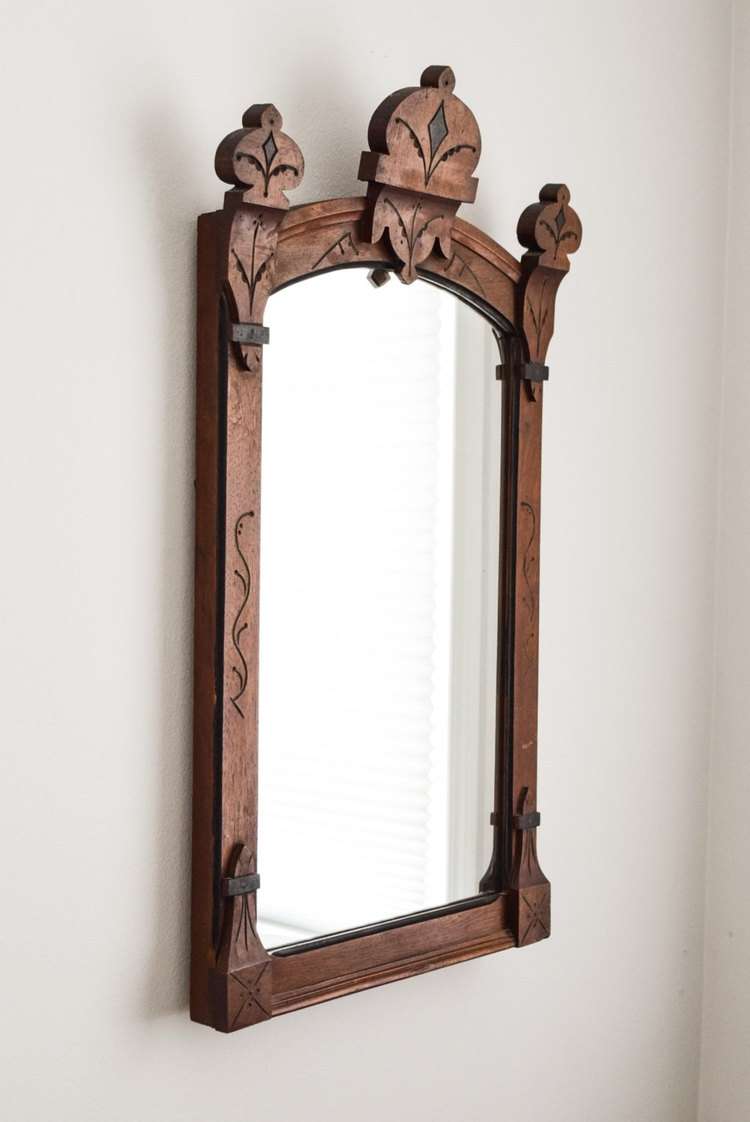 Round Mirror With Black Frame 15 Ideas Of Victorian Mirrors Antique Mirror Ideas