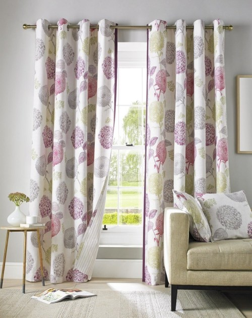 Medium Of Curtains For Bay Windows