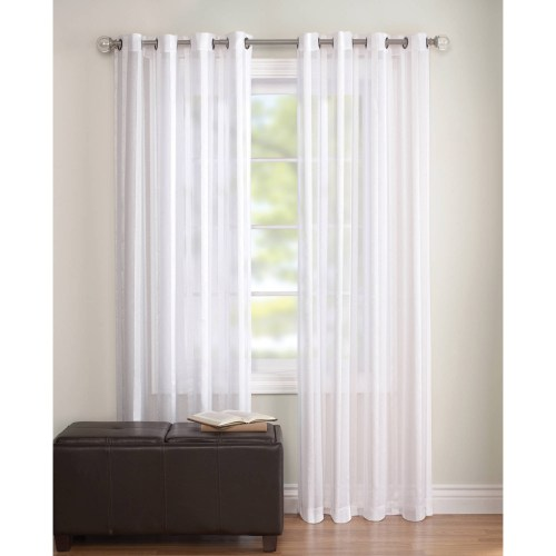 Medium Crop Of White Sheer Curtains