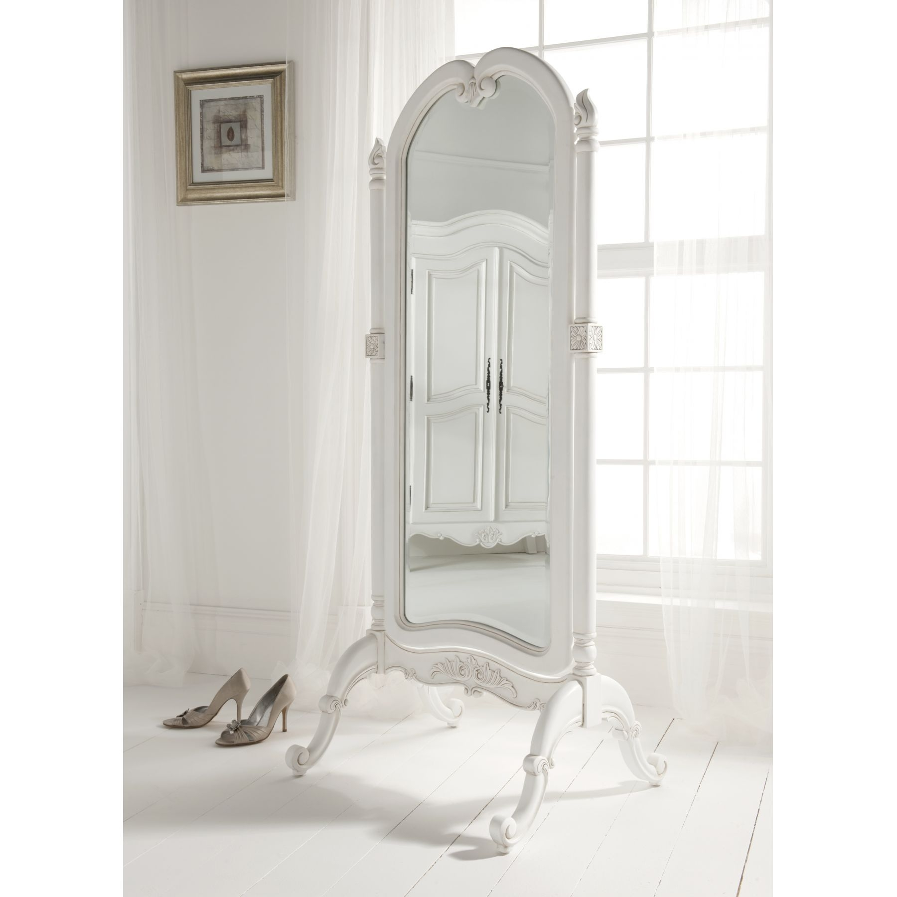 Full Length Mirror Ideas 15 43 Full Length Free Standing Mirror With Drawer Mirror