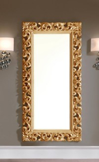 15 Photos Large Ornate Gold Mirror | Mirror Ideas