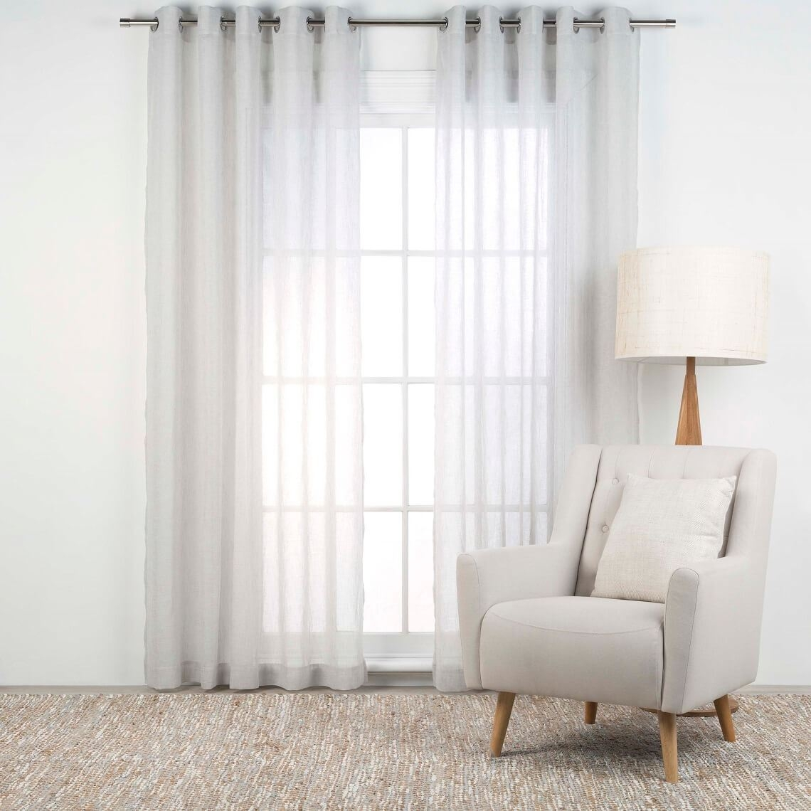 Ready Made Sheer Curtains Online 15 Collection Of Sheer Eyelet Curtains Curtain Ideas