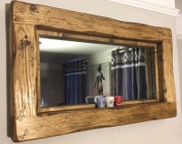 15 Collection of Rustic Oak Framed Mirrors | Mirror Ideas