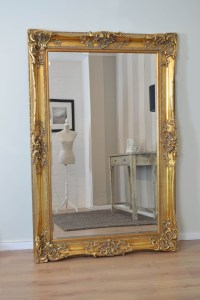 Large Gold Antique Mirror | Mirror Ideas
