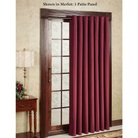 15 Inspirations Single Curtains for Doors | Curtain Ideas