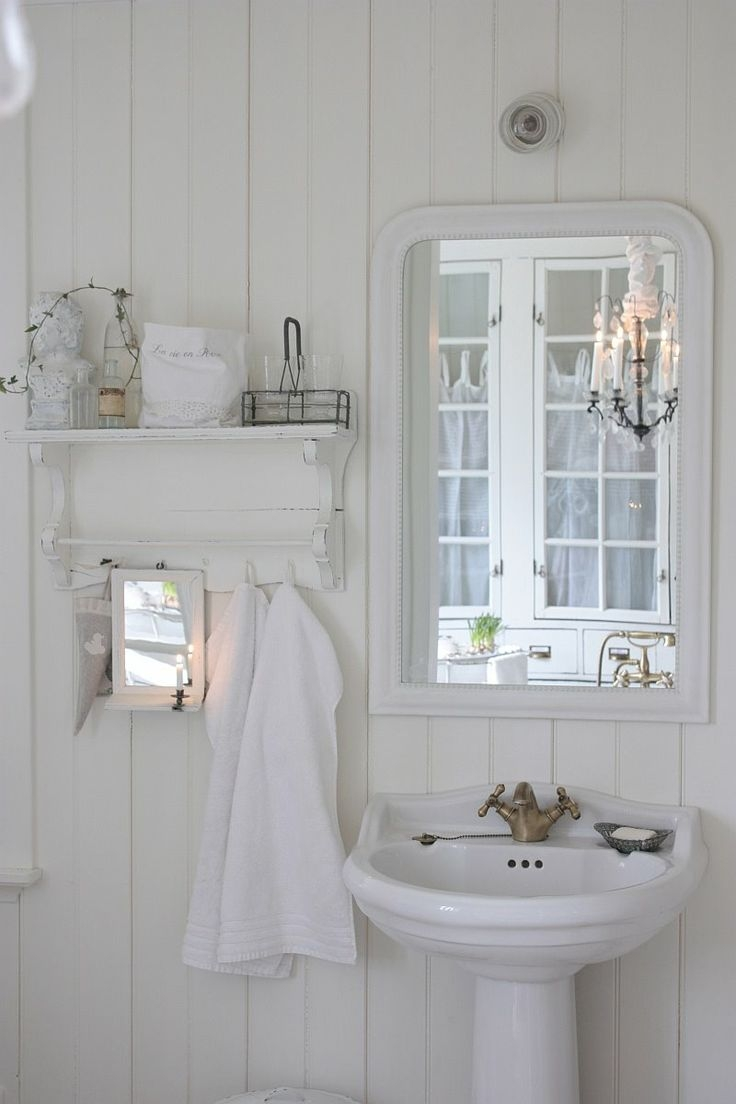 Shabby Chic Bathroom Mirror   The 139 Best Images About Bathtime Bliss On  Pinterest With Regard. Download