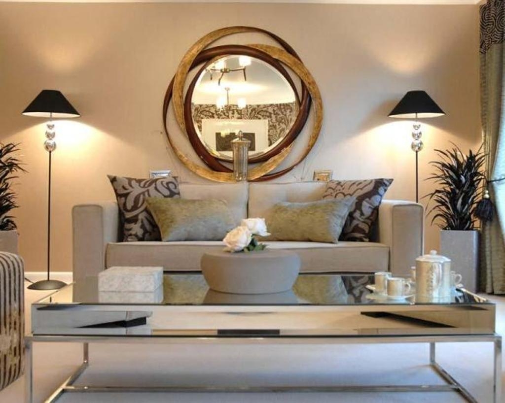 Decorative Mirrors For Living Room 15 Best Ideas Unique Round Mirrors Mirror Ideas