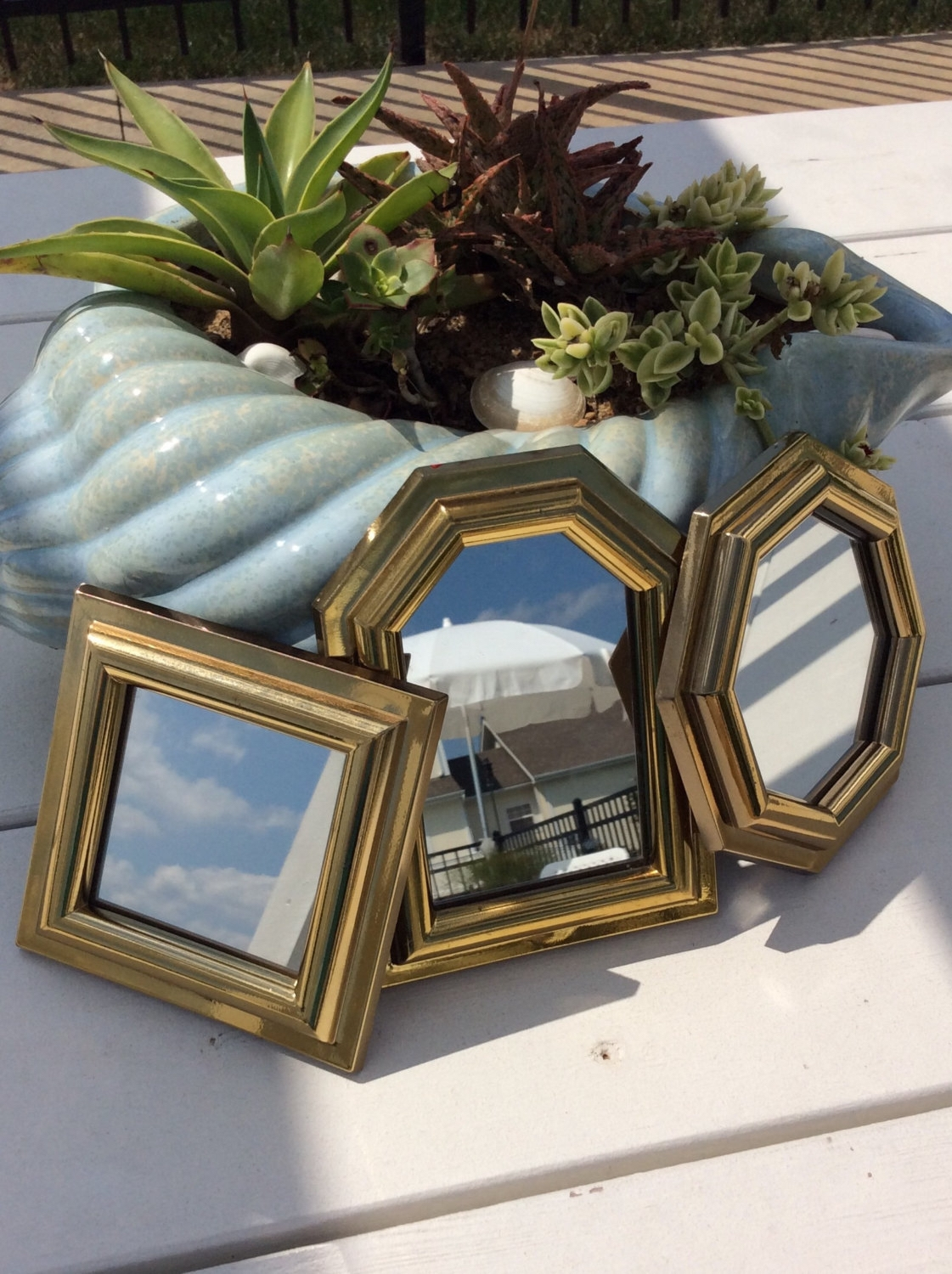 Small Gold Mirror Set Mirror Small Vintage Mirrors 5 Of 15 Photos