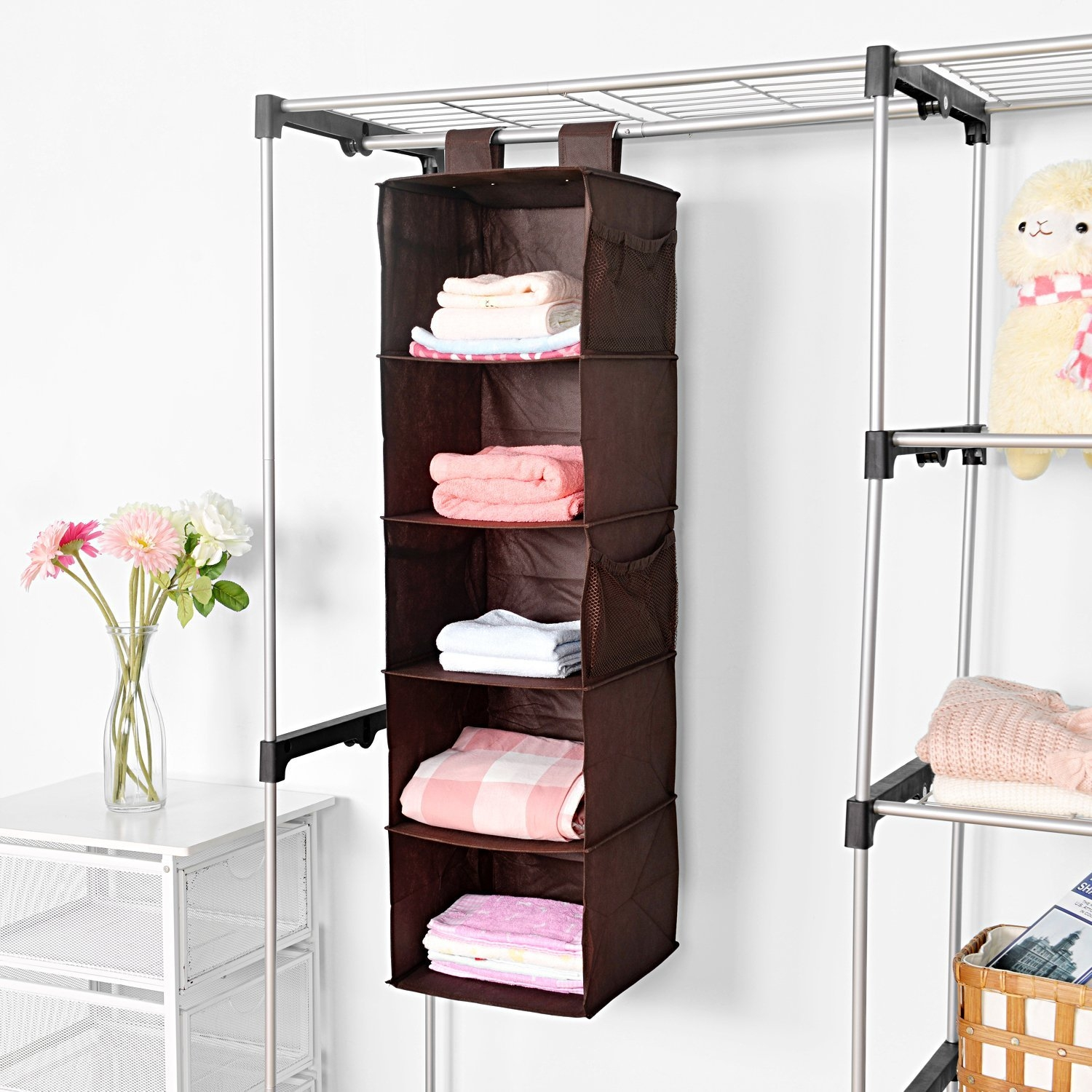 Wardrobe Storage Shelves 25 Collection Of Hanging Wardrobe Shelves Wardrobe Ideas