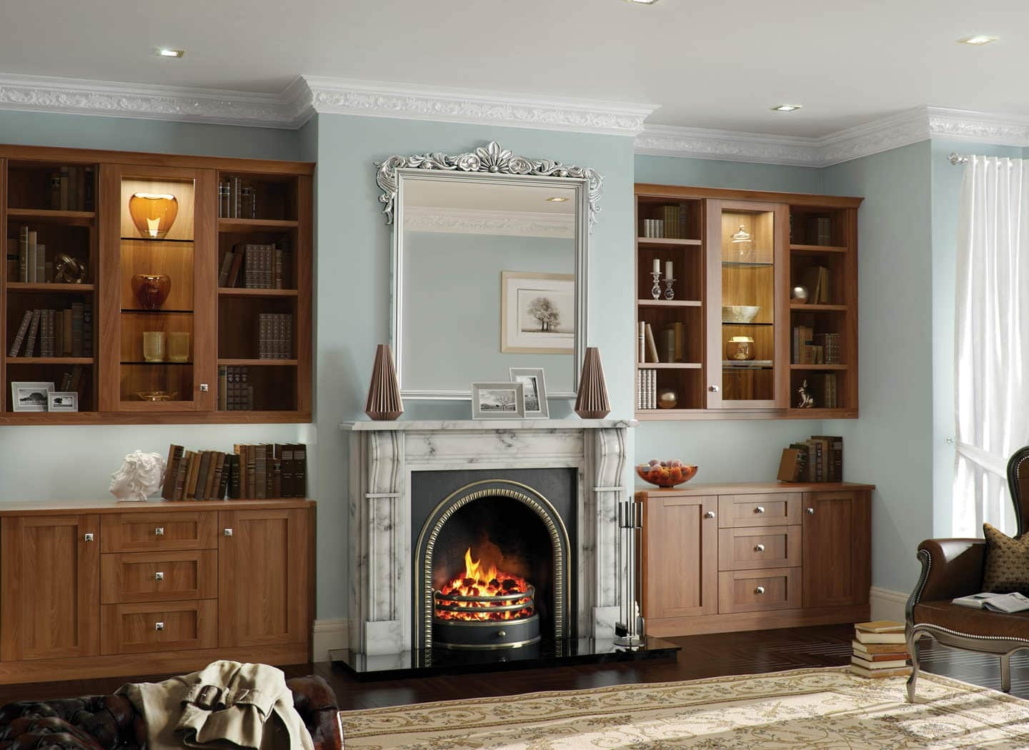 Living Room Cabinets Fitted Cabinets Living Room Cabinet Ideas