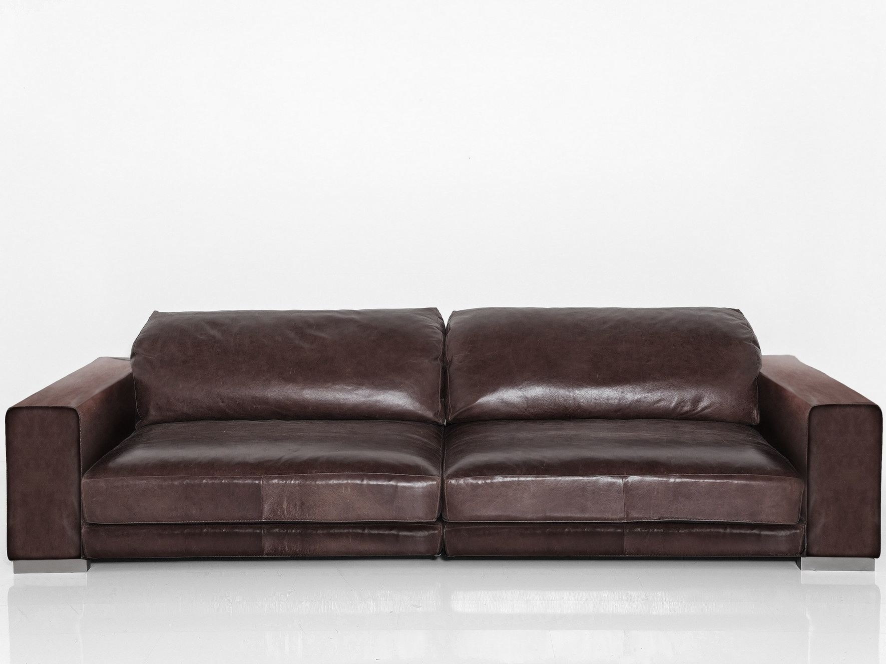 Leather Sofa Seats Designs 15 Collection Of 4 Seat Leather Sofas | Sofa Ideas