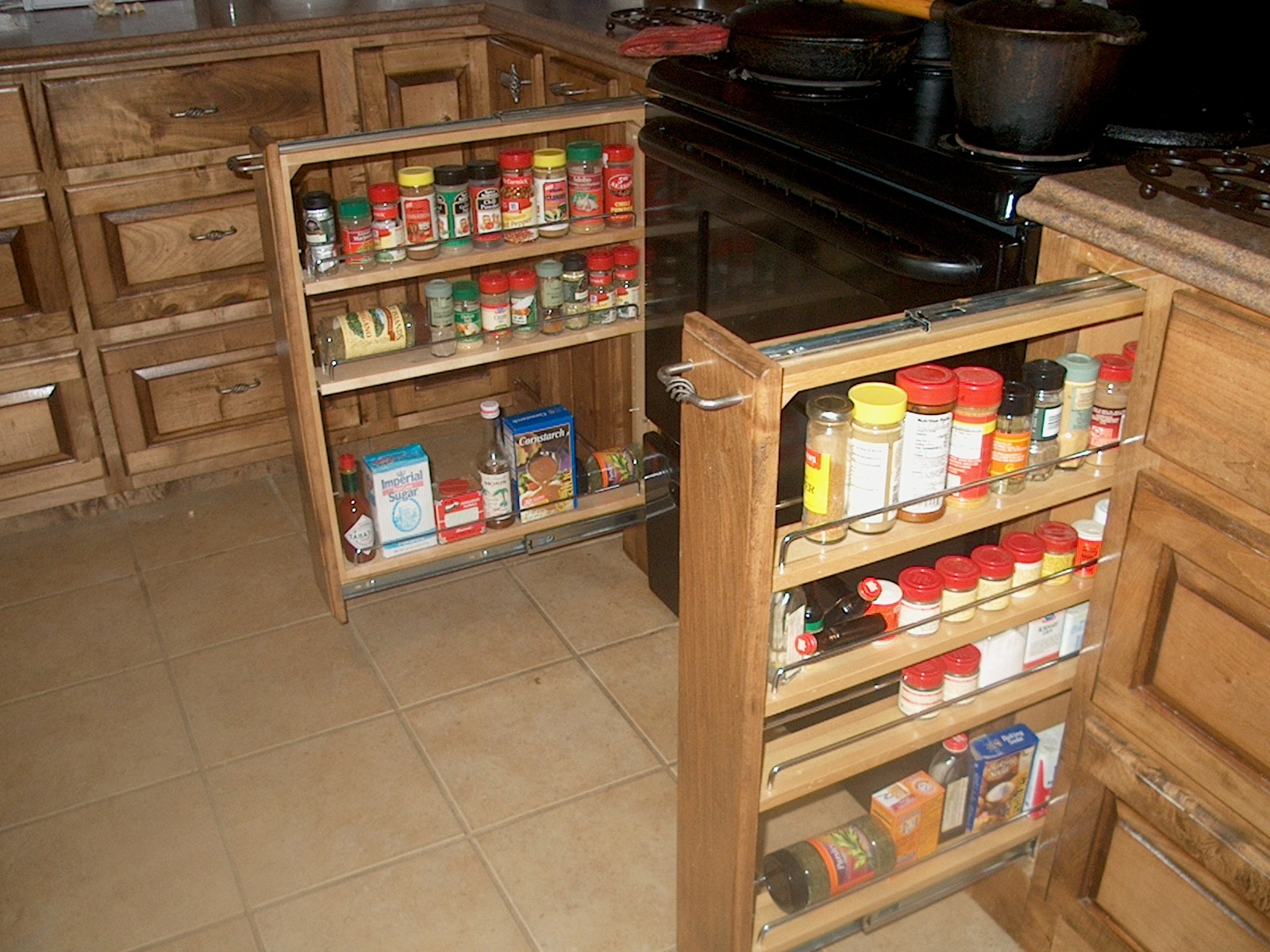 25 Collection Of Storage Racks For Kitchen Cupboards