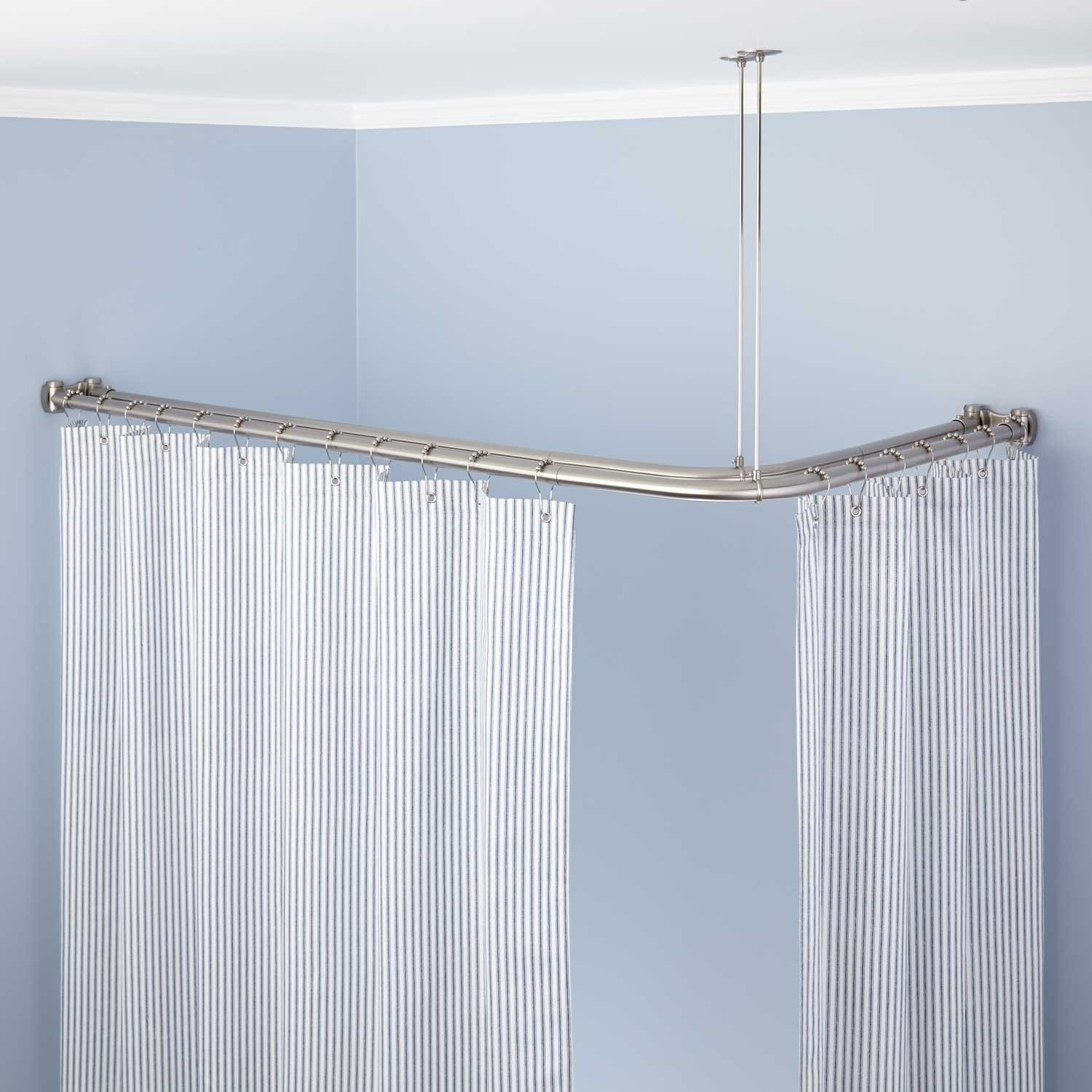18 24 Inch Curtain Rods 25 Collection Of Odd Shower Curtains Curtain Ideas
