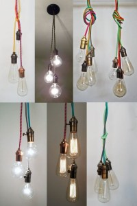 25 Best Ideas Bare Bulb Filament Triple Pendants | Pendant ...