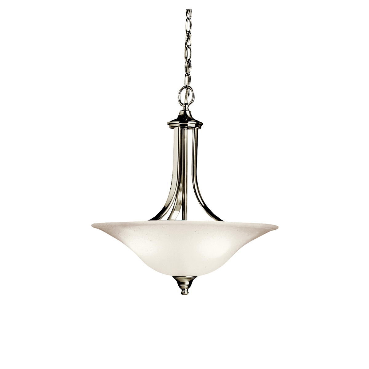 Pendant Lighting Brushed Nickel 25 Best Collection Of Inverted Pendant Chandeliers