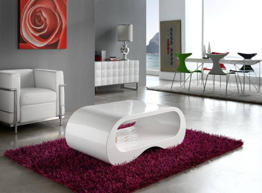 Couchtisch Rund Design 50 Best Collection Of White Gloss Coffee Tables | Coffee