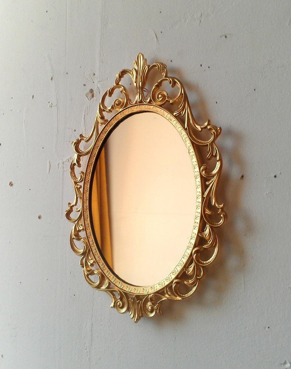 Small Gold Mirror Set 20 Ideas Of Small Gold Mirrors Mirror Ideas