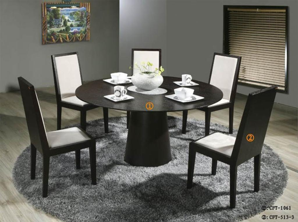 Esstisch Ausziehbar Design 20 Best Collection Of 6 Person Round Dining Tables
