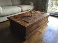 50+ Rustic Storage DIY Coffee Tables