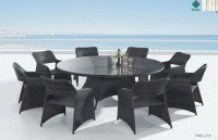 20 Inspirations 8 Seat Outdoor Dining Tables   Dining Room ...