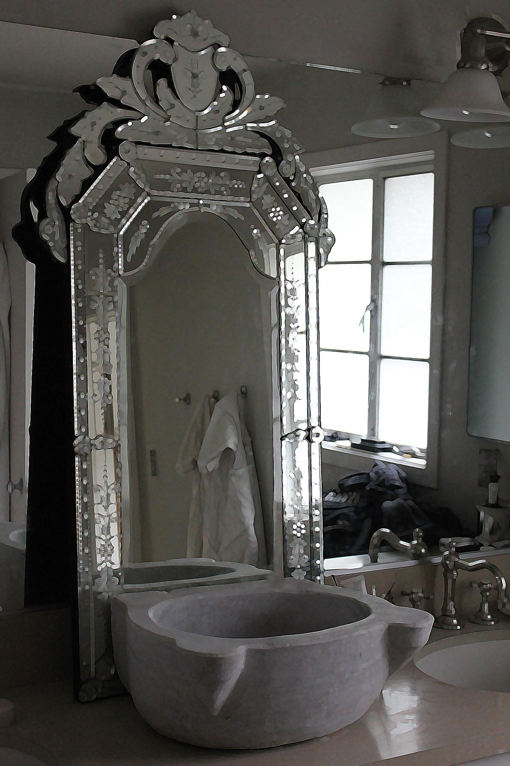 Tall Bathroom Mirrors Top 20 Tall Venetian Mirror Mirror Ideas
