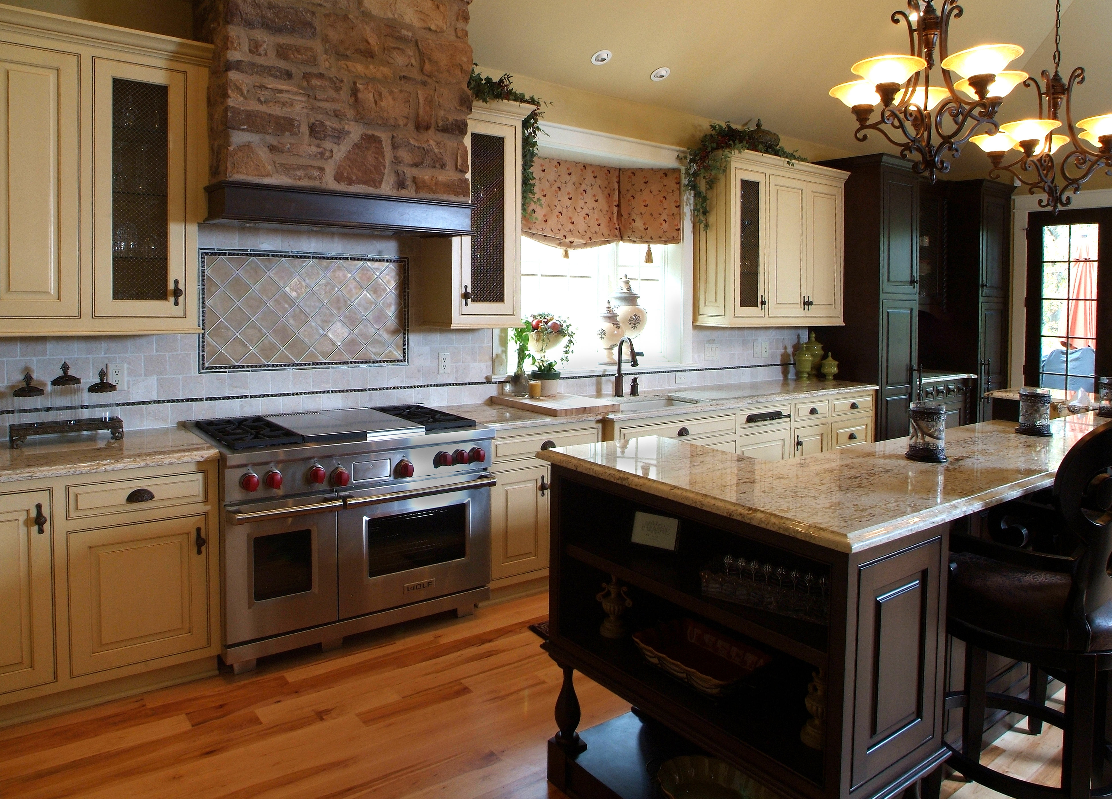 French White Kitchen Cabinets 25 Ideas Of French Country Chandeliers For Kitchen