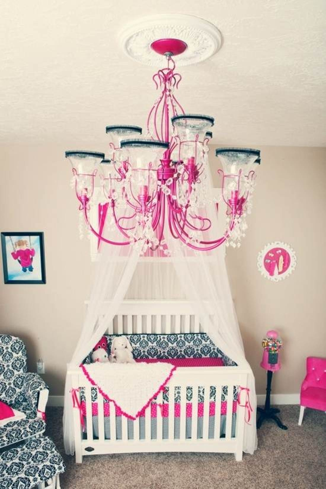Lamp For Toddler Room 25 Ideas Of Cheap Chandeliers For Baby Girl Room